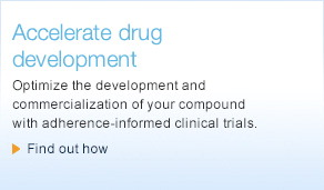 Optimize the development and commercialization of your compound with adherence-informed clinical trials.